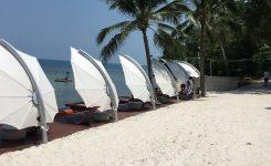 Parasole ogrodowe Icarus by Umbrosa Belgia – Conrad Hotel Tajlandia