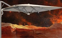 Parasol ogrodowy Astro Spacegray