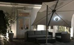 Parasol Spectra z lampką Etna by Umbrosa
