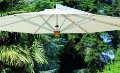 Parasole ogrodowe Capri z nową czaszą o wym. 300cm x 300cm.