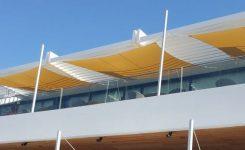 Płachty przeciwsłoneczne Ingenua by Umbrosa nowe tkaniny