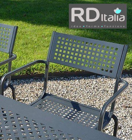 Meble Ogrodowe Metalowe Rditalia 100 Made In Italy Pol Rex